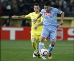 Villareal 2-1 Napoli Hamsik celebration-effect, Nilmar score