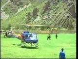 Perù - Turisti in fuga dalle inondazioni a Machu Picchu