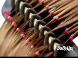 Sèche cheveux babyliss lissant