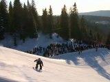 TTR Tricks - Tyler Flanagan Snowboarding Tricks at Oakley Arctic Challenge