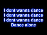 Nikki Ponte - I Dont Wanna Dance [Lyrics on Screen]