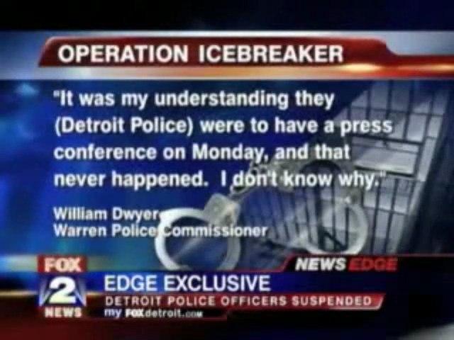 Blowback the Reason for Man to Shotgun 4 Detroit Cops?