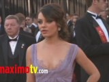 MILA KUNIS at Oscars 2011 Red Carpet