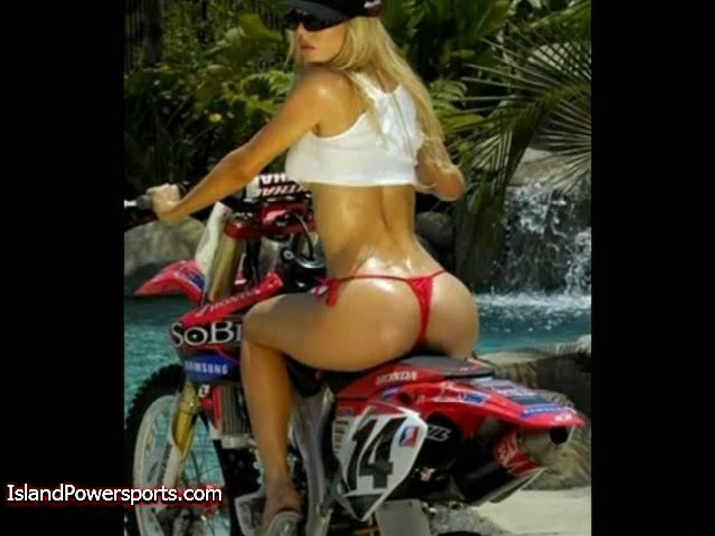 Models Riding Motorcycles!