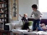 20110225 Romain et Nico font les fous Merignac