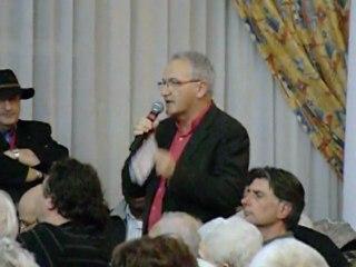 René Revol (Front de Gauche) au forum sur l'Europe de Nîmes
