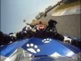 Roulage moto au circuit du Val de Vienne - Le Vigeant