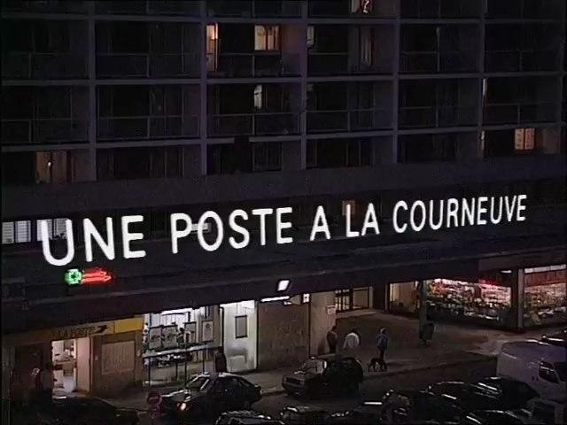 Une poste à la Courneuve, année : 1994, réalisation : Dominique Cabrera, habitants des 4000 HLM cités