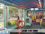 Opinion sur rue sur la ligne 1 du tram de Montpellier
