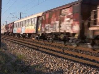 74. TRAINS ET TGV DANS LE SUD ... VII ...