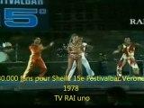 Sheila You Light my fire Festivalbar Verone  Rai Uno