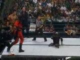 WWF KOTR 2000 McMahons, Triple H vs Taker, Kane, Rock Part 1