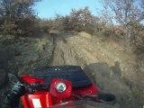Balade dans le Puy de Dôme  en duo quad-moto