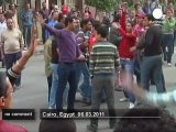 Egyptian protesters call for a major... - no comment