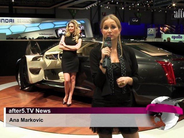 Cadillac UVC & STX Hybrid Concepts — 2011 Geneva Auto Show