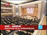 Discours d'Ahmadinejad à l'ONU...Aïe, ça fait mal !