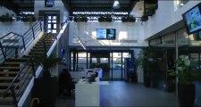 Visite des locaux de France Bleu Haute-Normandie