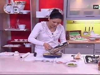 choumicha recettes - Gratin au foie et champignon