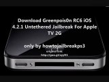 Download Greenpois0n RC6 iOS 4.2.1 Untethered Jailbreak For