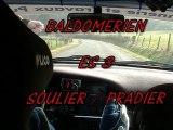 Rallye Baldomérien ES3 Embarquée SOULIER / PRADIER Megane A7