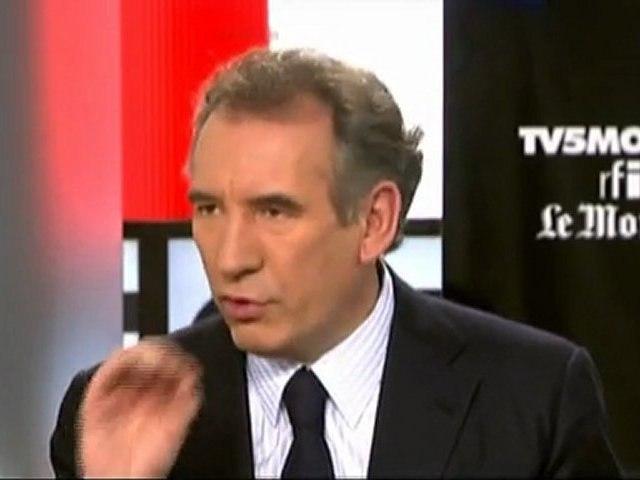 François Bayrou: Burqa