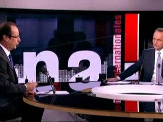 """F. Hollande : """"il n'y a pas de nouveau débat à ouvrir sur la place de l'islam en France"""""""