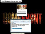 Homefront Codes Keys For XBOX 360, PS3 and PC