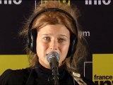 "La Session France Info Selah Sue  chante ""Summertime"""