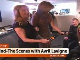 Avril Lavigne Backstage Interview at Today Show (March 2011)