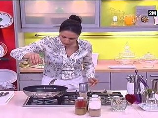 Choumicha - Entrée facile : choux salés aux crevettes