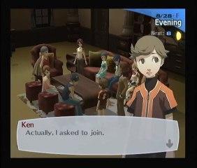 Persona 3 - 08/25 au 31 part.2 - Ken rejoint l'équipe
