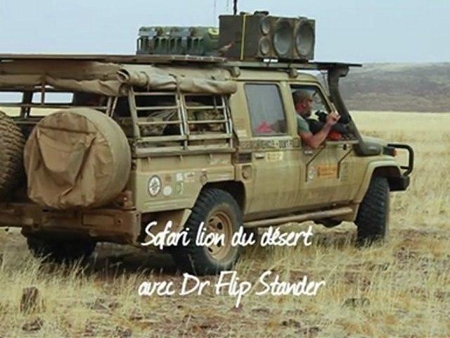 Safari lion du désert avec Terres Oubliées