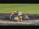 les travaux de la LGV Est dans le Saulnois mars 2011