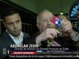 Un musulman déchire sa carte UMP