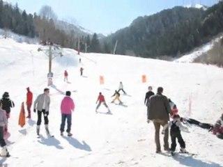 Bourg d'Oueil: skier en famille, quel plaisir