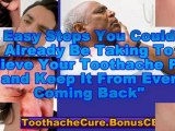 toothache cures - home remedies for toothaches - sinus tooth