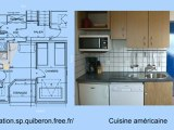 Location vacances Saint-Pierre Quiberon en Bretagne avec vue mer - Appartement 2 pièces 4 personnes
