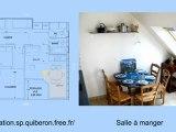 Location vacances Saint-Pierre Quiberon en Bretagne avec vue mer - Appartement 3 pièces 6 personnes