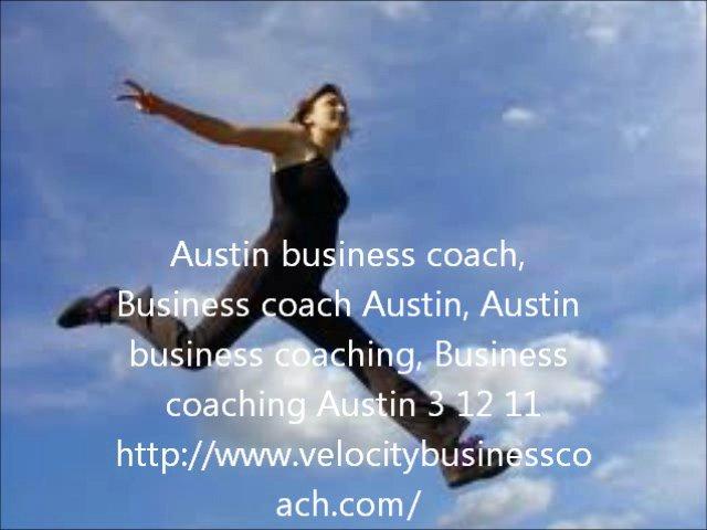 Austin business coach, Business coach Austin, Austin busines