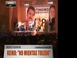 """Keiko: """"No mientas Toledo"""""""