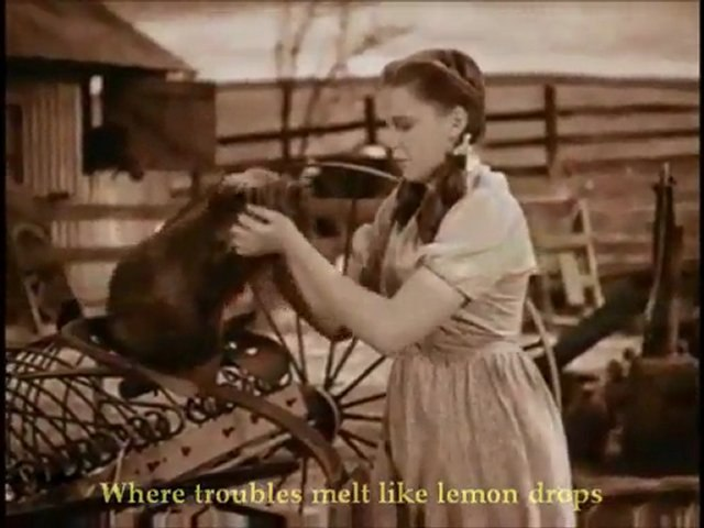 Judy Garland - Somewhere Over The Rainbow (1939)