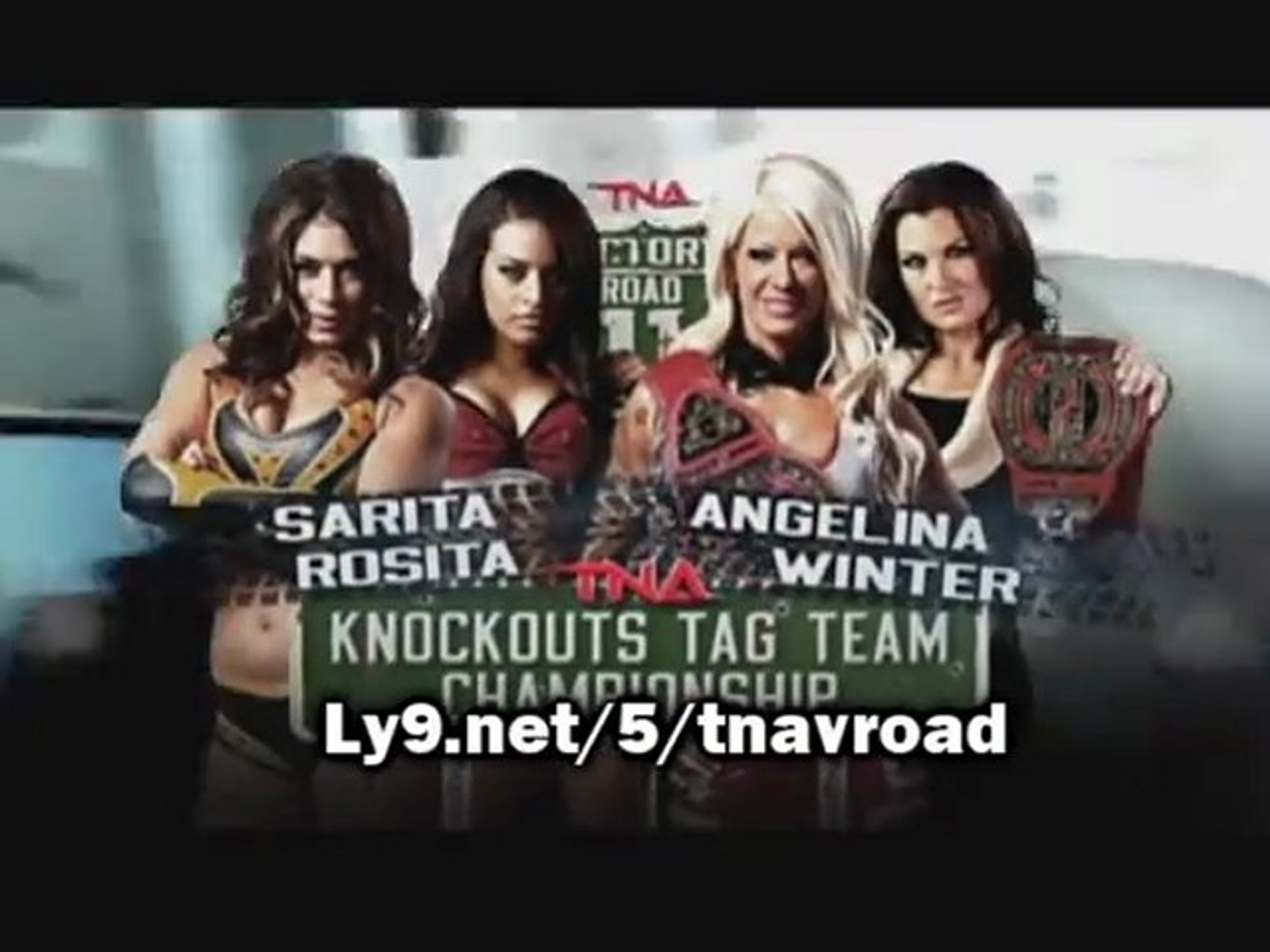TNA VICTORY ROAD 2011 - Fight Card