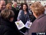 Cantonales/Europe Écologie Les Verts: Cécile Duflot au Mans