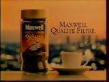 Publicité Café Maxwell 1995