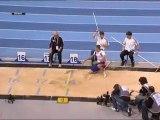 Triple saut Bercy: finale Yoann Rapinier sauts 1,2 et 5