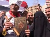 Protests against attacks on Copts, Al Jazeera English