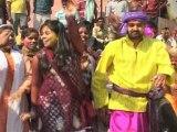 Varanasi, India: Holi Festival Celebrations Underway