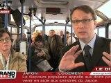 Cantonales : Luc Monnet fait campagne en bus (Cysoing)