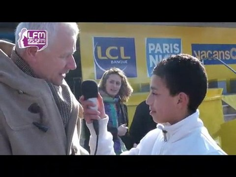Les Apprentis-Journalistes de LFM au Paris-Nice 2011
