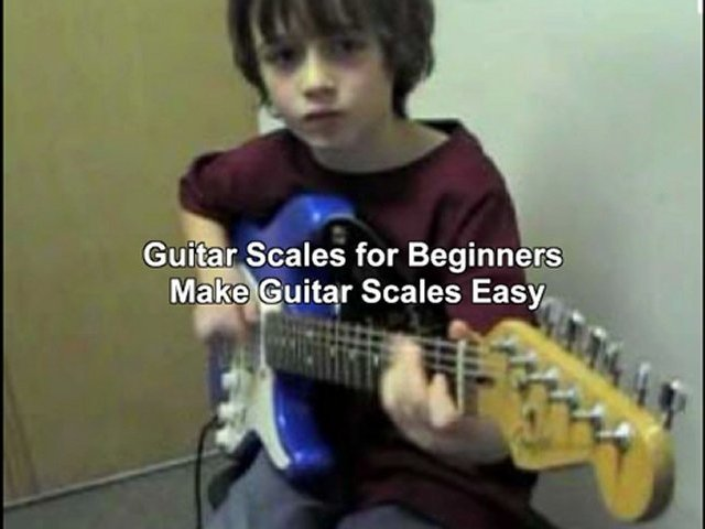 lead guitar scales